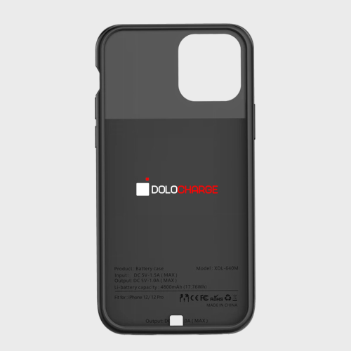 Dolo iPhone Charge Case for iPhone 12/12 Pro/12 Pro Max [5000mAh Battery]